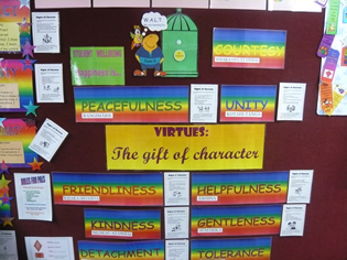 Virtues display