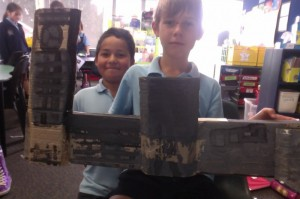 Sharing our construction creations